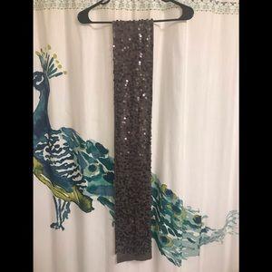 NWOT Eileen Fisher Merino Wool Sequin Scarf